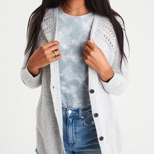American Eagle Outfitters Sweaters - American Eagle Gray Cardigan